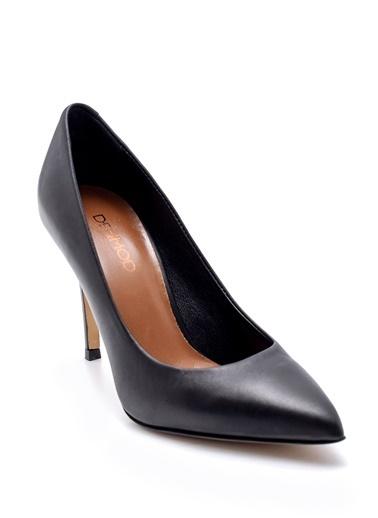 Derimod Kadın Stiletto (2536 05) Klasik Siyah